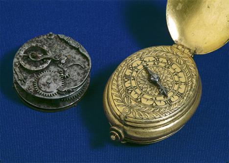 XVI-wieczny zegarek kieszonkowy