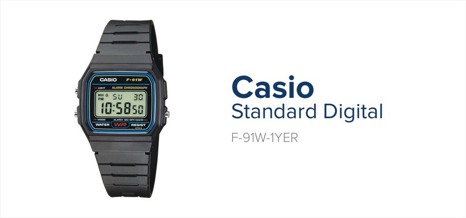 Zegarek Apokalipsa Zombie - Casio F-91W