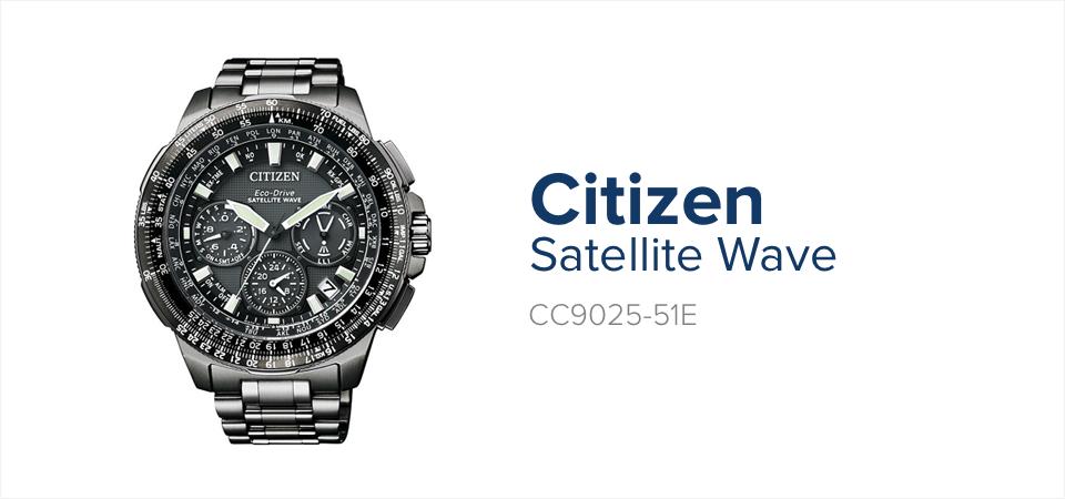 Zegarek Apokalipsa Zombie - CItizen Satellite Wave