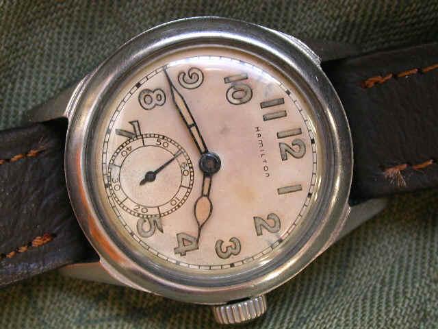Zegarek Hamilton z czasów II wojny światowej