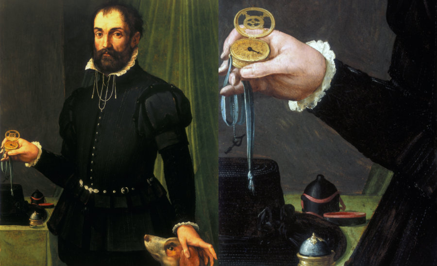 Pierwszy zegarek kieszonkowy