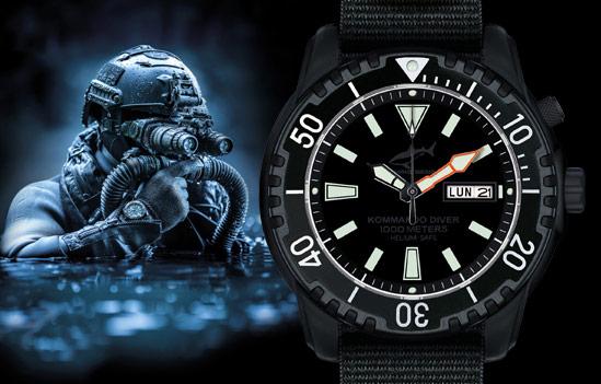 Zegarek Diver Chris Benz Komando Diver