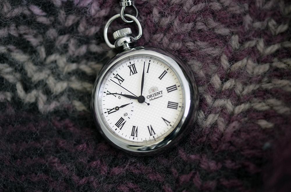 Zegarki kieszonkowe. Zegarek Orient
